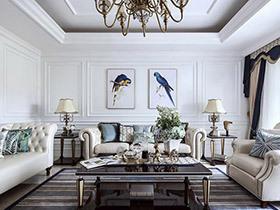 335平法式风格别墅装修图 演绎极致优雅