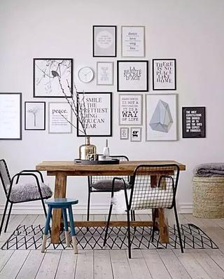 餐厅背景墙装饰画图片