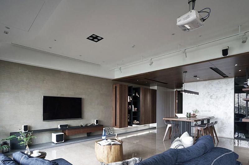 现代简约风格 客厅吊顶装饰大全