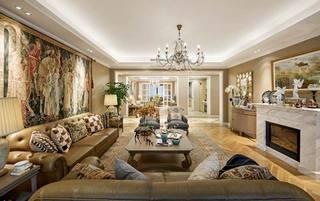 奢华古典法式 客厅混搭装饰大全