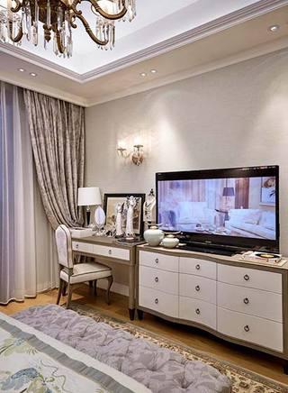 242㎡法式三居室电视柜设计图