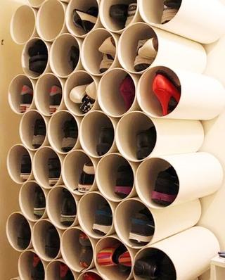 玄关实用墙面鞋柜装修图