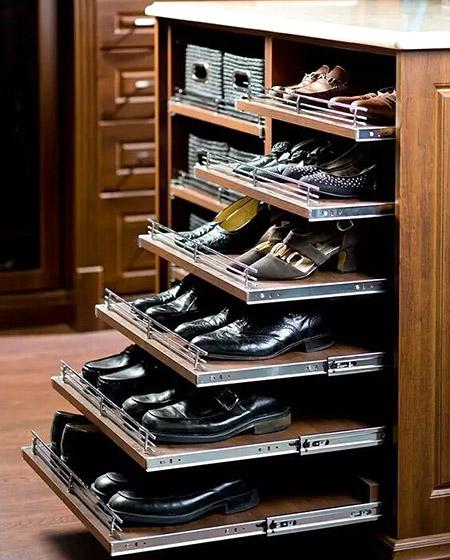 经典玄关鞋柜效果图装修