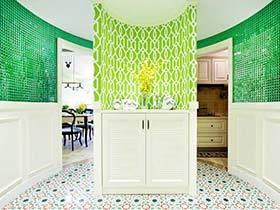110㎡美式三居室装修效果图 掩不住的气质