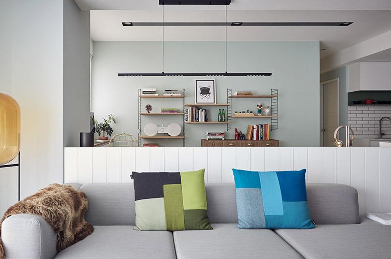 148平北欧公寓客厅装潢图
