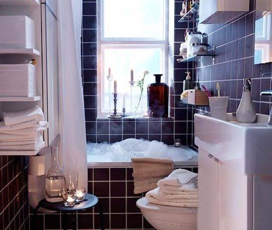 小户型现代风格浴室图片