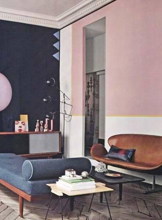 客厅色彩搭配设计平面图