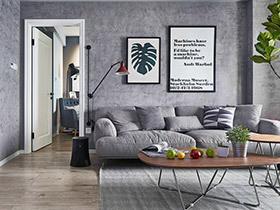 100平北欧风格两室两厅装修 还原生活本色