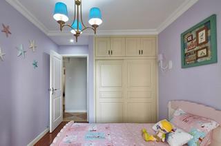 114平美式三居室儿童房装潢设计