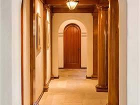 木质打造传统韵味  10个复古风走廊设计图