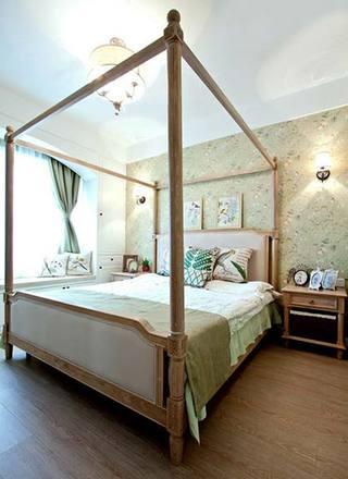 150㎡美式田园卧室图片