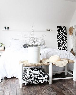 北欧风格卧室几何图案抱枕图2016