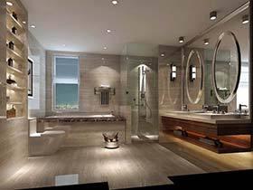 好设计为您家支招 10个现代风卫生间图片