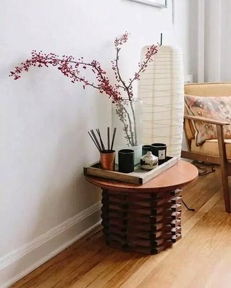 58平米单身公寓卧室茶几设计图