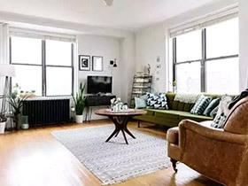 58平单身公寓装修图 出租房里的精彩生活
