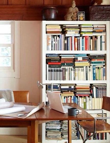 复古小书房布置构造图