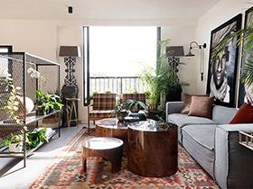混搭风格LOFT公寓装修图 趣味混搭空间