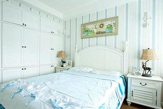 110㎡美式两居室卧室装修图