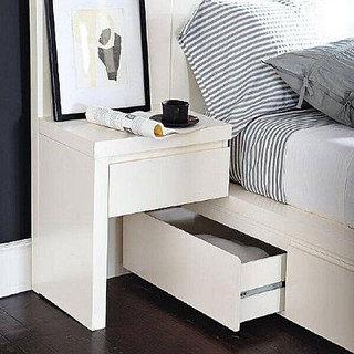 创意床头柜布置图片