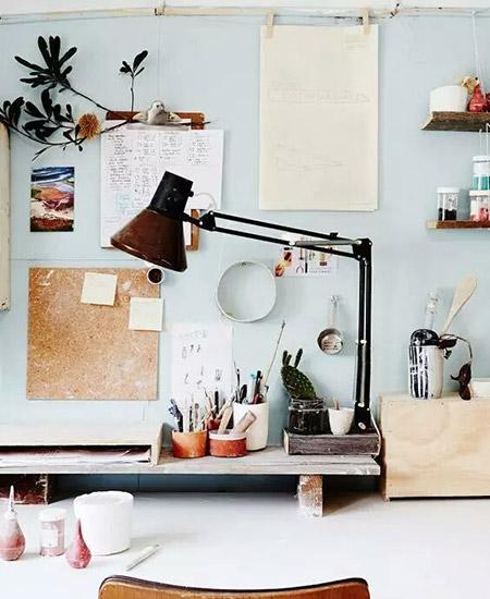 小户型书桌收纳设计图
