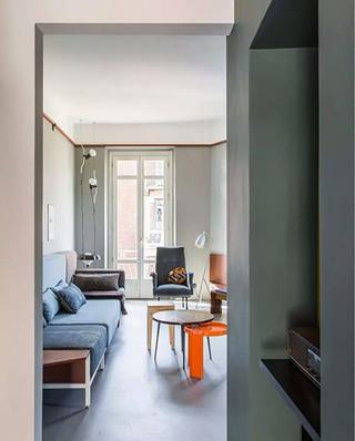 90平公寓客厅装修效果图