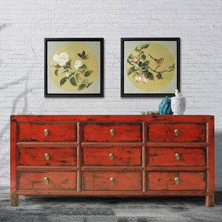 中式装饰柜装修设计效果图