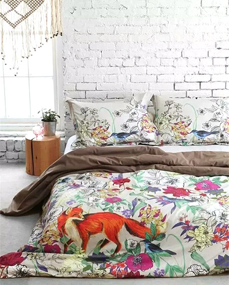 舒适卧室床品效果图