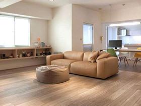 100平简约风格开放式公寓装修 清爽无限