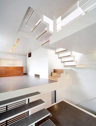 室内楼梯设计参考图片