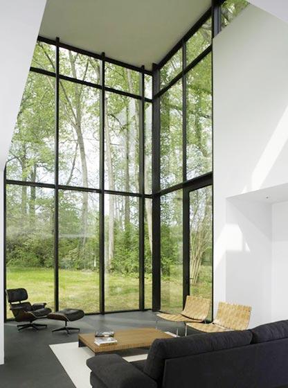 设计美学 创意门窗 窄边框门窗 固定窗