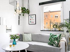 混搭风格单身公寓装修图 浓郁北欧工业风