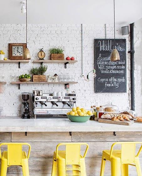 厨房吧台设计效果图