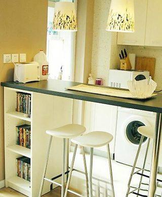 厨房吧台设计平面图