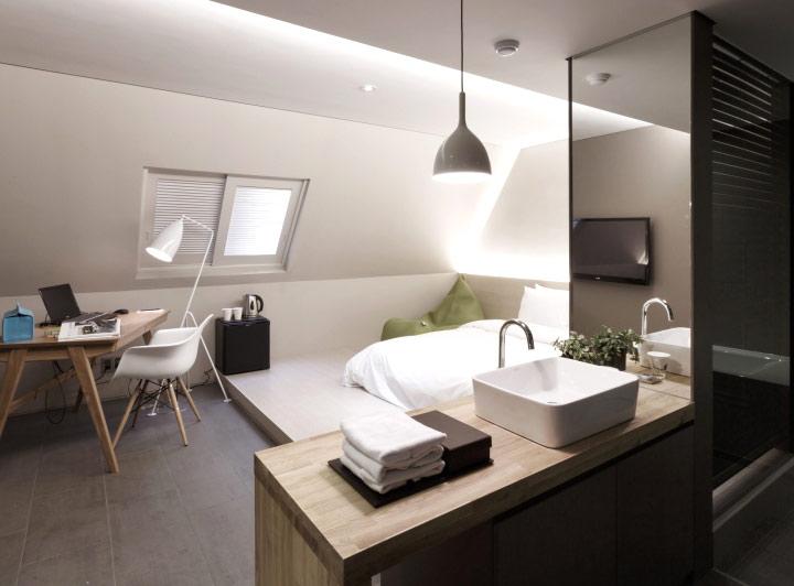 酒店卫生间台面设计