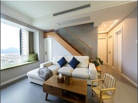 宜家风格小户型复式房装修 清新自然