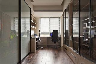 简约风格三室两厅装修书房设计效果图