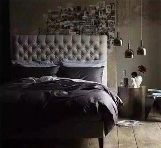男生卧室布置摆放图