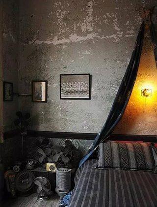 男生卧室布置欣赏效果图