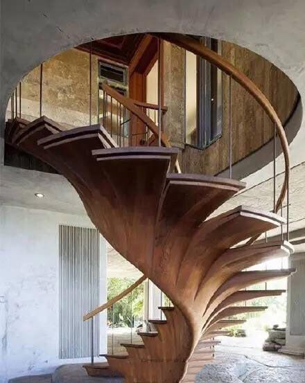 创意楼梯装修平面图