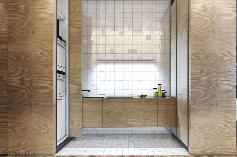 40平小户型公寓厨房橱柜装修
