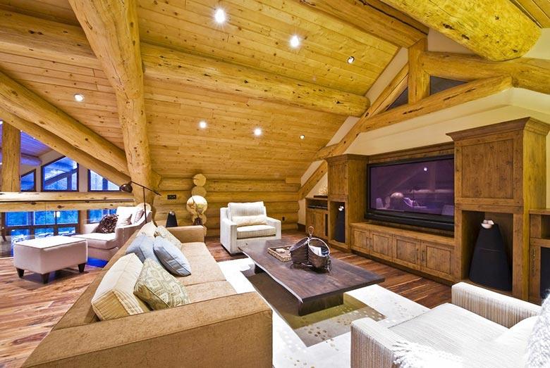 木质客厅装修装饰效果图