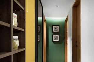 132平简约三居室过道装潢设计
