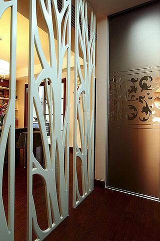 美式风格装修三居室隔断效果图