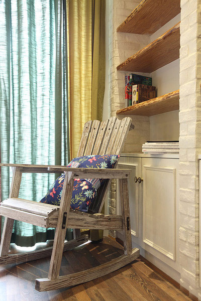 田园风格装修 让家让世外桃源一样美妙单人沙发