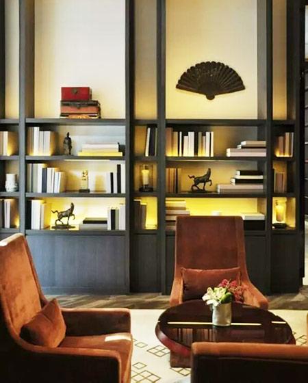 中式风格办公室装修图片