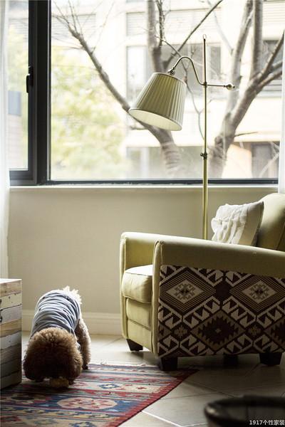 美式混搭风格装修 富有魅力的设计形式布艺沙发