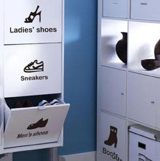 玄关鞋柜设计实景图片