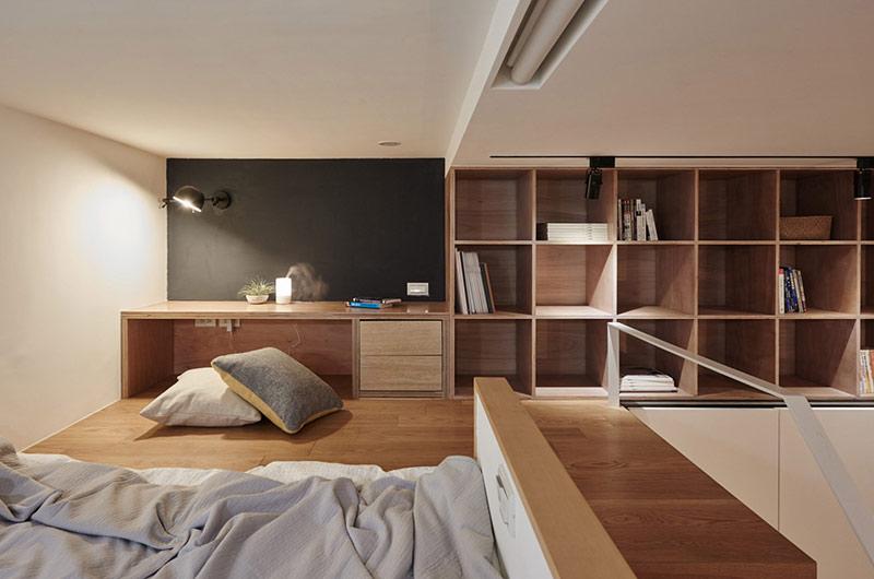 22平米超小公寓卧室装潢设计