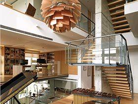 复古工业风  不一样的公寓设计