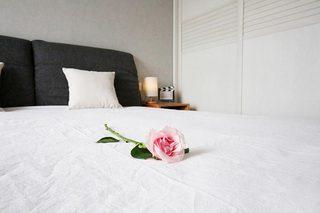 89㎡北欧两居室卧室图片大全